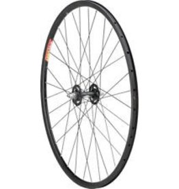 Quality Wheels Quality Wheels Track Front Wheel 700c Dimension / Velocity Aero Black