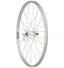 "Quality Wheels Quality Wheels Front Wheel Value Series 27"" 32h 100mm QR Formula / Alex AP18/ DT Industry Silver"