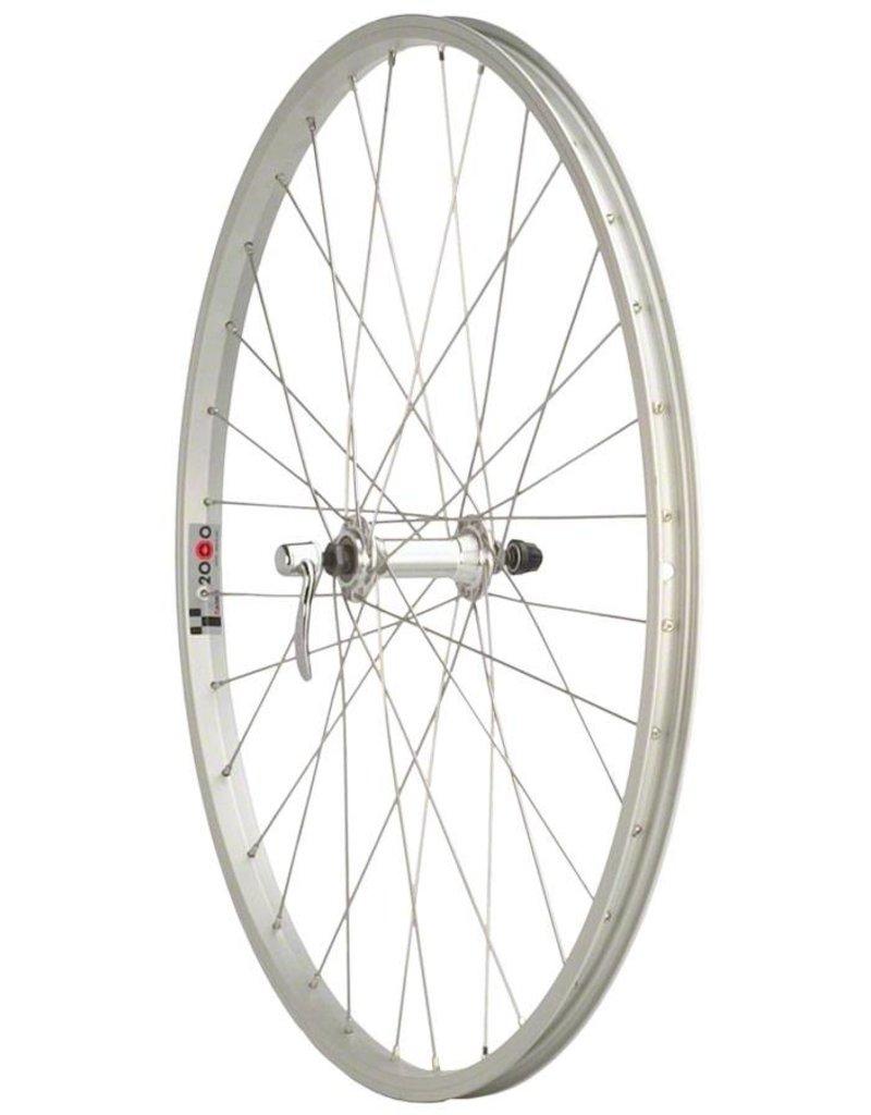 "Quality Wheels Quality Wheels Front Wheel Value Series 27"" 32h 100mm QR Formula / Alex AP18/ DT Industry Silver"