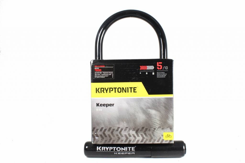 "Kryptonite Kryptonite Keeper Standard U-Lock: 4 x 8"""