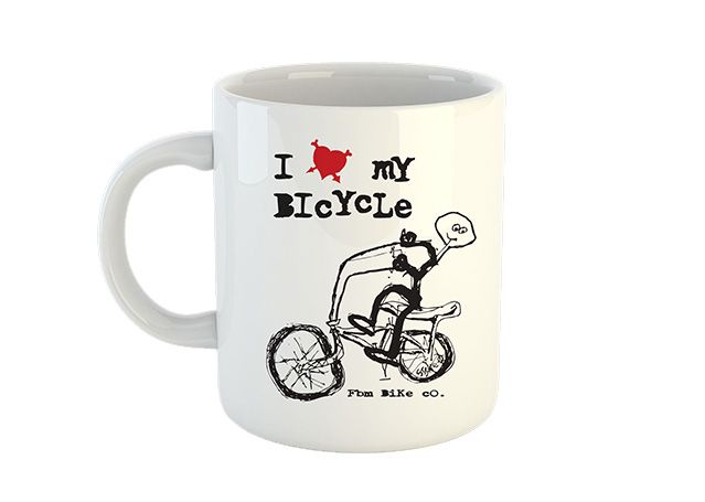 FBM I Love My Bicycle Mug