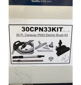 Cana-Vac 30 ft Cana-Vac PN33 Electric Brush Kit