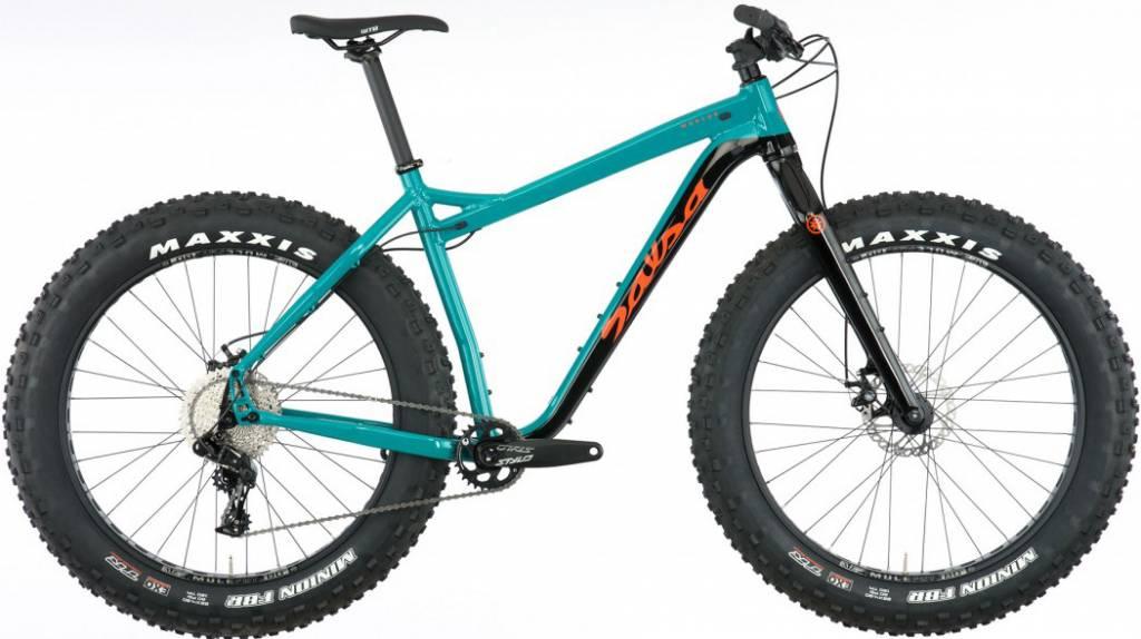 Salsa Mukluk NX1 Bike MD Teal/Black