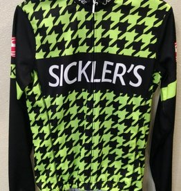 V-Gear Sickler's Green Men's Jersey Sport Cut LS Small