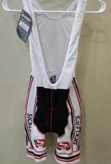 V-Gear Sickler's White Men's Bib Shorts size Medium