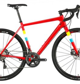 Salsa Cycles Salsa Warbird Carbon Ultegra Bike 55cm Hot Red
