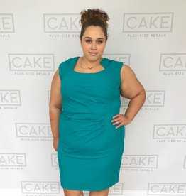 Calvin Klein Calvin Klein Teal Dress - Size 22