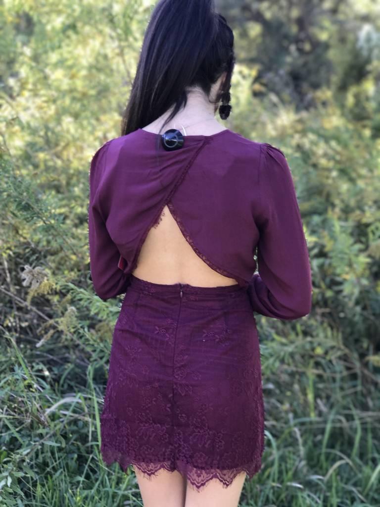 GRACE TIE FRONT DRESS