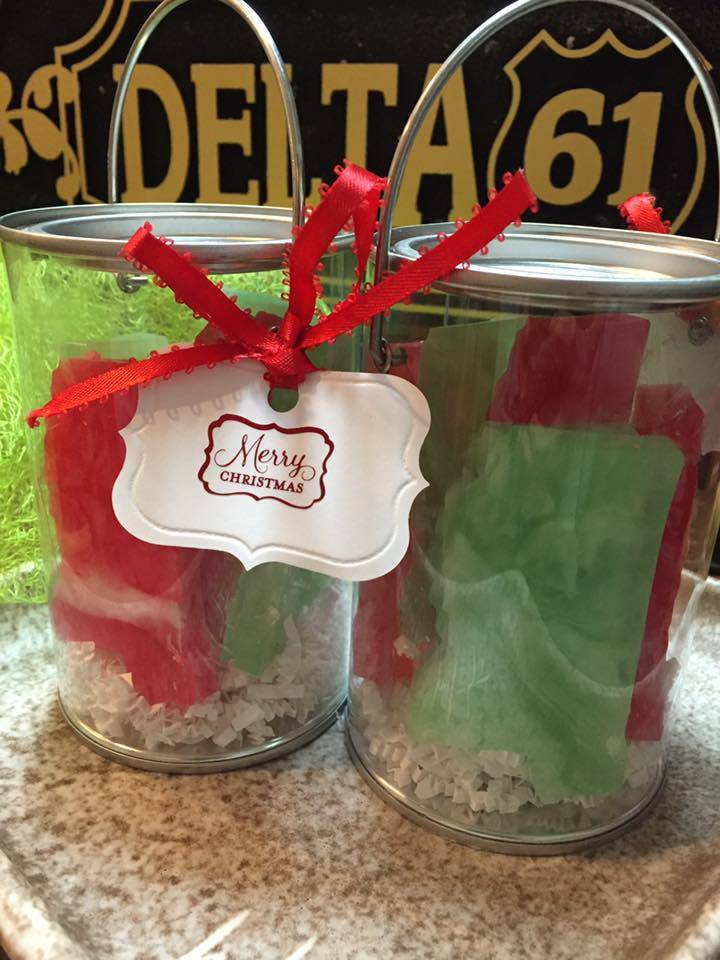 Mississippi Made Holiday Soap Bucket