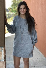 SWEATER PULLOVER DRESS