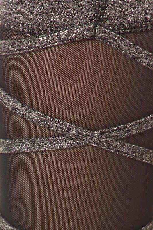 MESH WRAP AROUND LEGGINGS