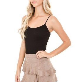 SUEDE LAYER MINI SKIRT