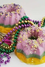 MARDI GRAS KING CAKE SOAP