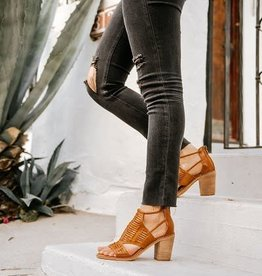 WOODEN HEEL BOOTIES