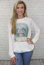 ROAD TO NOWHERE GRAPHIC SWEATSHIRT