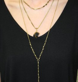 TIERED PENDANT NECKLACE