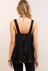 PLEATED TOP WITH RING-STRAPS