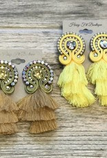 TIER TASSEL EARRINGS