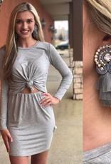 KNOT DETAIL DRESS