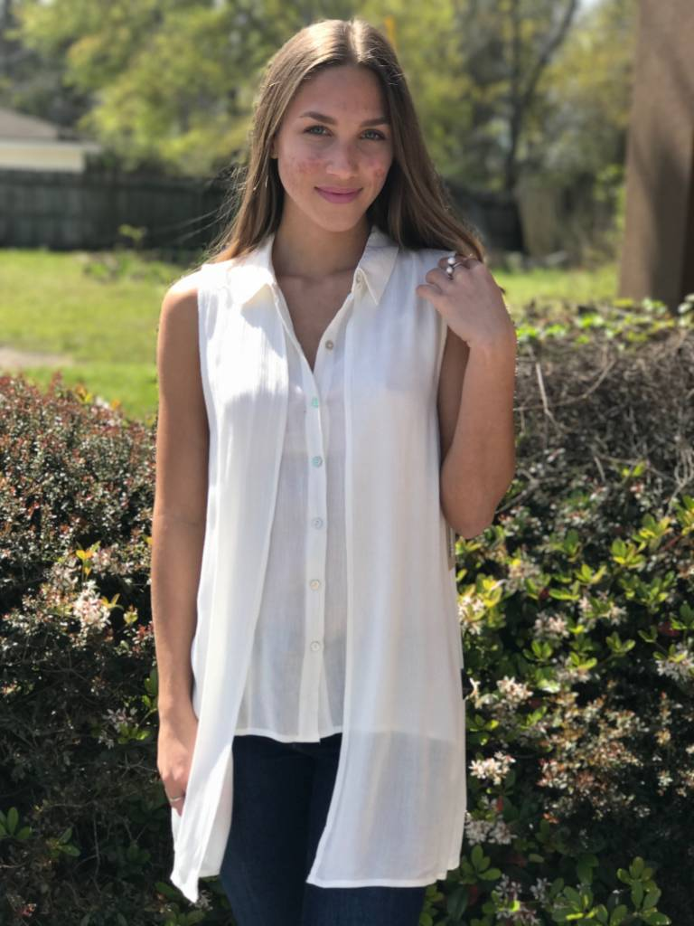 COLLARED BUTTON TANK