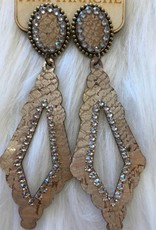 PYTHON CRYSTAL EARRINGS