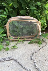 TRIM CLEAR HANDBAG