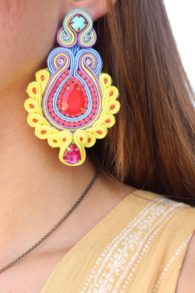 NEON DEBBIE EARRINGS