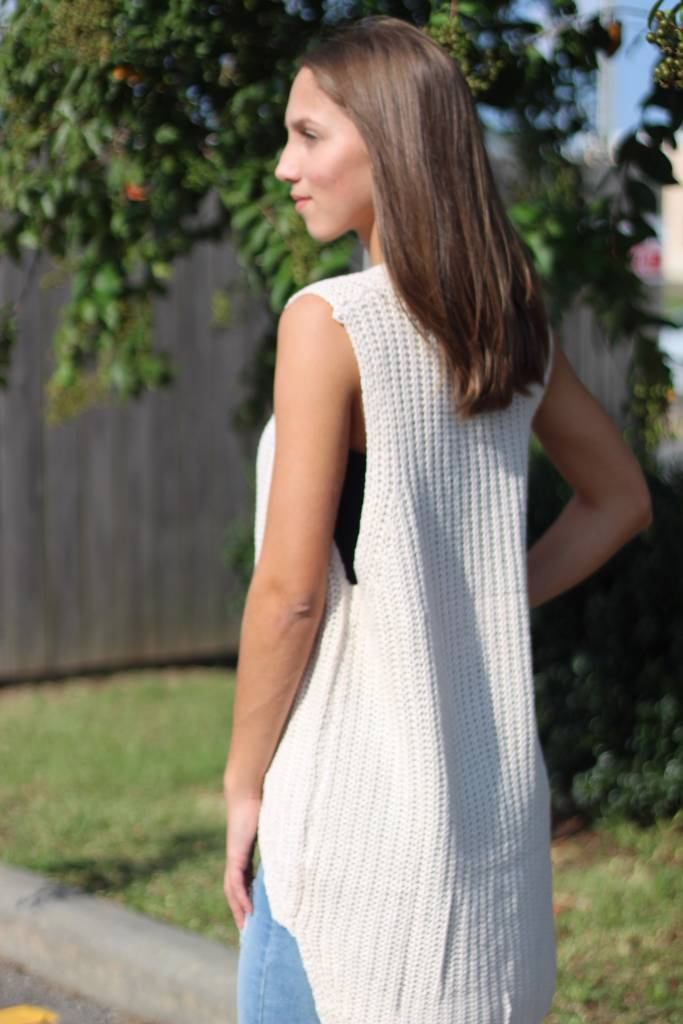 HIGH LOW SWEATER TOP