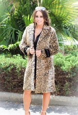 FUR COAT WITH SLEEVE DETAILS