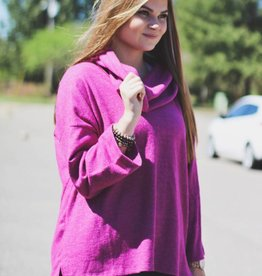COULNECK BELLSLEEVE SWEATER