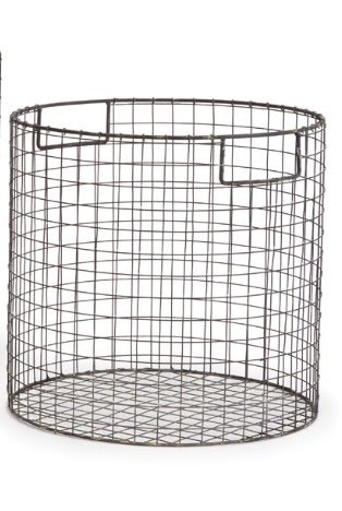 Napa Home and Garden Paris Round Wire Basket-Large - Miller and ...