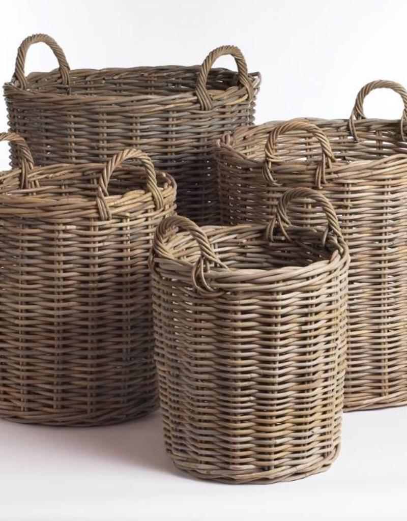 Napa Home And Garden Normandy Round Basket  Large ...