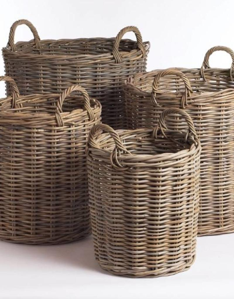 Napa Home and Garden Normandy Round Basket- Small - Miller and ...