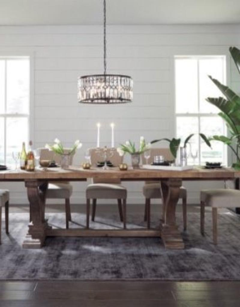 Classic Home Alexander Extended Dining Table - Miller and Company Design