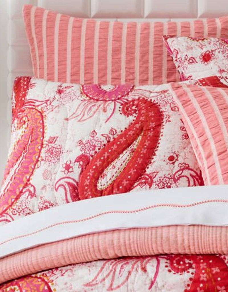 pine cone hill. Pine Cone Hill Vista Paisley Quilted Sham/Euro