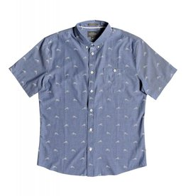 Quiksilver Quiksilver Waterman Mahi Hami Short Sleeve Shirt