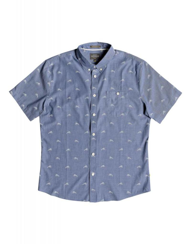 Quiksilver Quiksilver Waterman Mahi Hami Short Sleeve Shirt