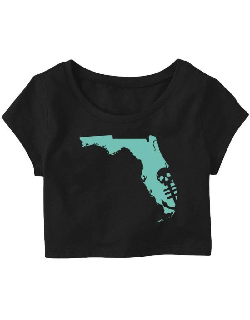 Saltwater Syndicate Saltwater Syndicate Florida Crop Top