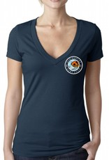 Old Naples Surf Shop ONSS Women's Surf the Pier V-Neck Tee