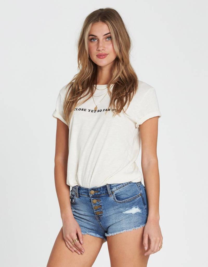 Billabong Billabong Buttoned Up Denim Shorts