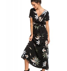 Roxy Roxy Lotus Heart Short Sleeve Maxi Dress