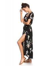 Roxy Roxy Lotus Heart Short Sleeve Maxi Dress