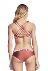 Maaji Maaji Carioca Valley Fixed Halter Bikini Top