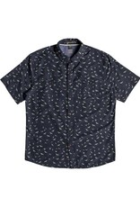 Quiksilver Quiksilver Waterman Wake Sea Flight Short Sleeve Shirt