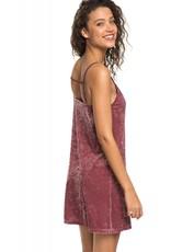 Roxy Roxy Sleepy Night Strappy Velvet Dress
