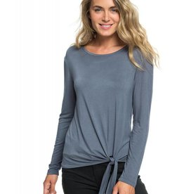 Roxy Roxy Make Me Smile Long Sleeve Tee