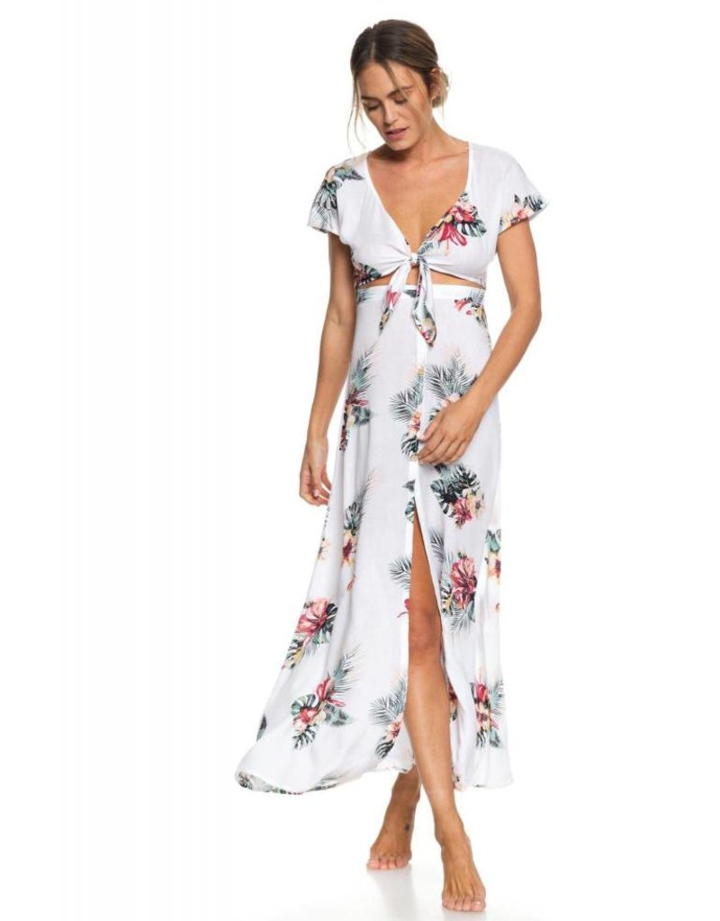 Roxy Roxy Ubud Walk Short Sleeve Maxi Dress