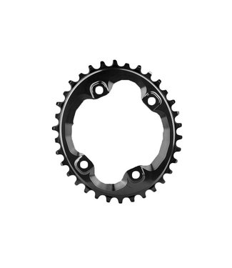 Absolute Black Absolute Black Oval Shimano XT M8000/MT700 Chainring Threaded