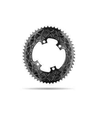 Absolute Black Absolute Black Premium Oval Road Chainring 4x110BCD