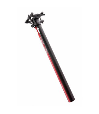 3T 3T Dorico Team Seatpost 27.2x350mm Red